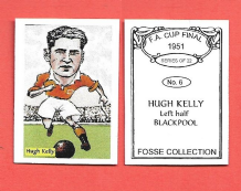 Blackpool Hugh Kelly Scotland 6 (FC)